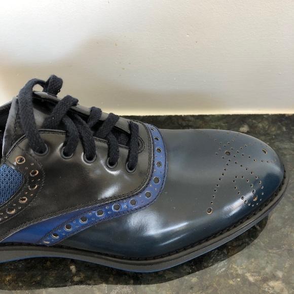 92151e9eca Prada Leather & Fabric Oxford Shoes (MENS SHOES)